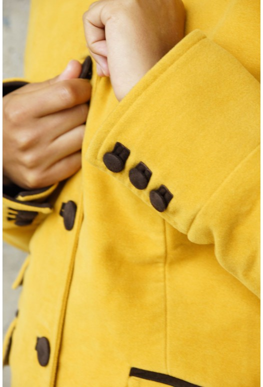 Jockey Coat Yellow