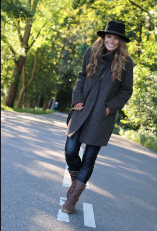 Winter Coat Brown