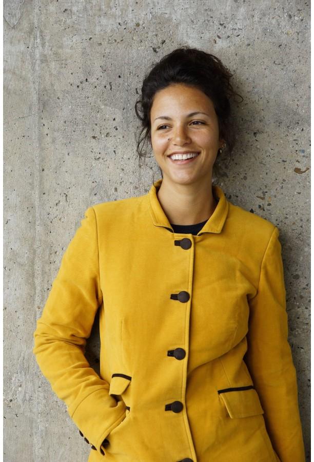 Jockey coat yellow