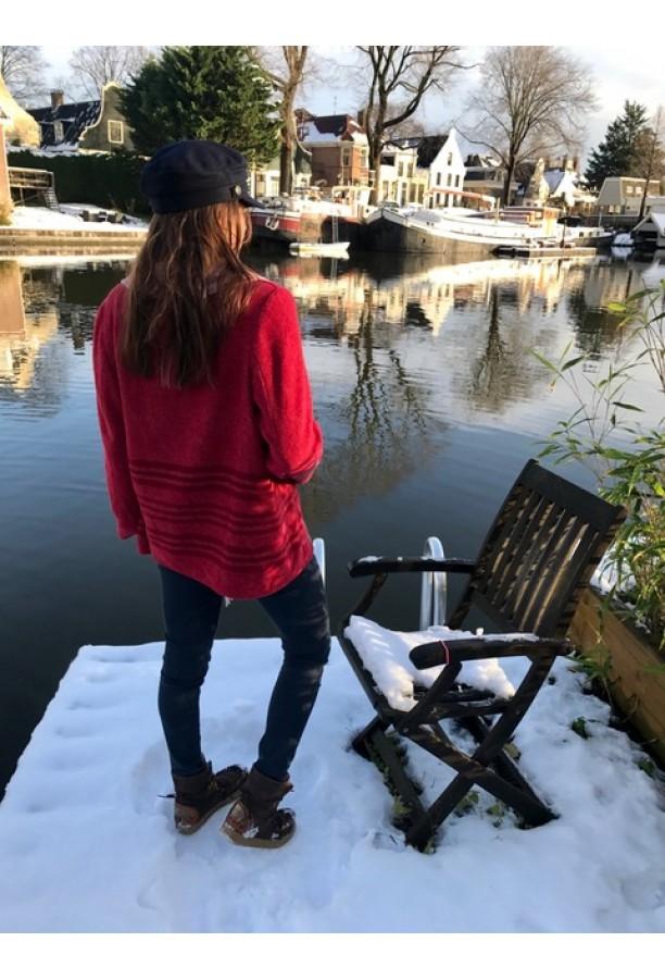 Fringe Jacket - Red