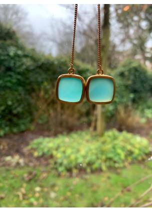 Blauwe Chalcedoon - Carlala Jewelry
