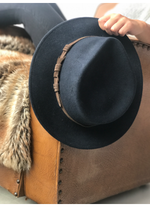 Classic blue hat