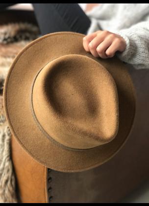 Classic camel hat