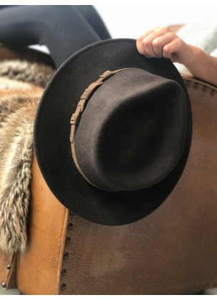 Classic brown hat