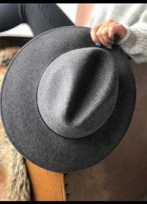 Classy grey hat