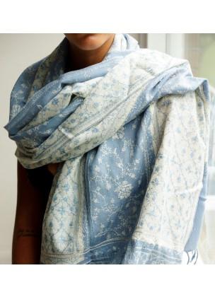Silk/pashmina scarf