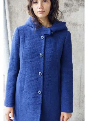 All season Coat Blue