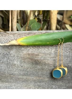 AGATE - Sea Blue Gold