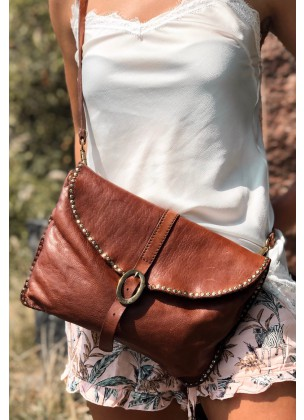 "Crossbody rectangular - ""Maia"""