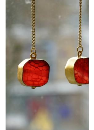 Rode Onyx - Carlala Jewelry