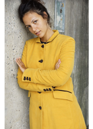 Jockey Coat - Yellow
