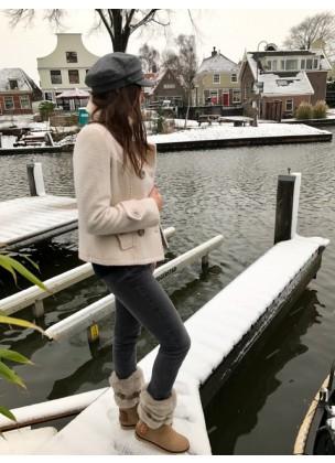 Wool jacket white