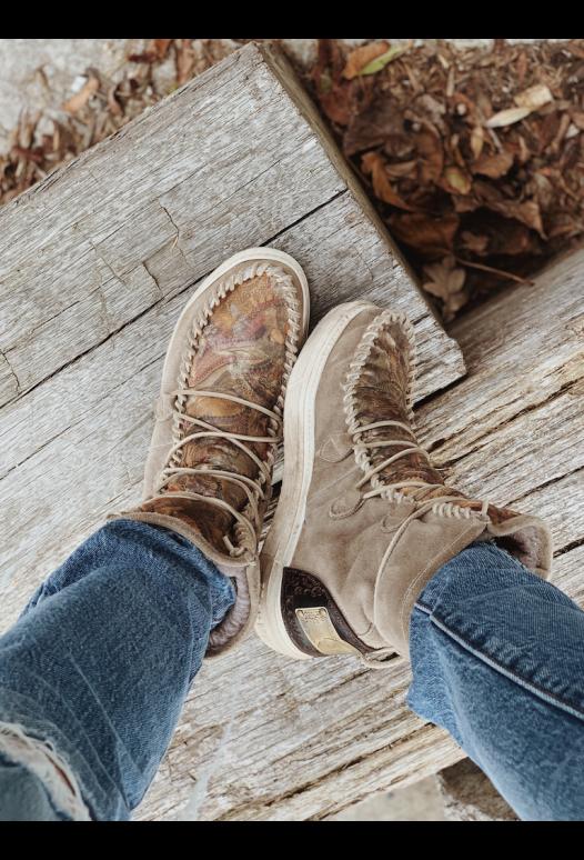 Ymiz Camou Autumn Winter SALE 30% Karma Boots Karma